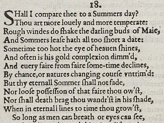KS3 Introduction to Sonnets