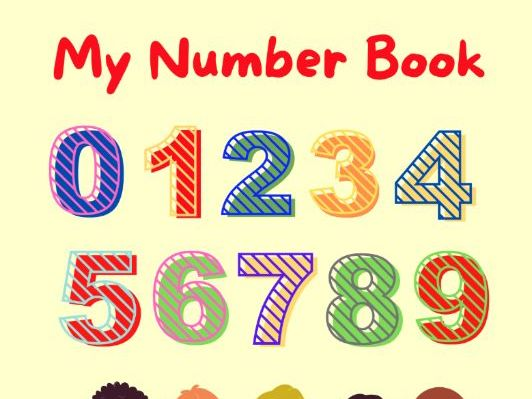 My Number Book: Trace, Color and Practice Numbers