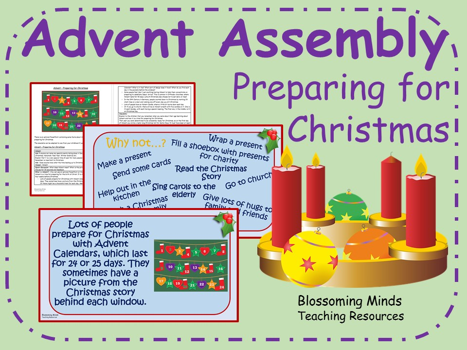 Advent Assembly - Preparing for Christmas