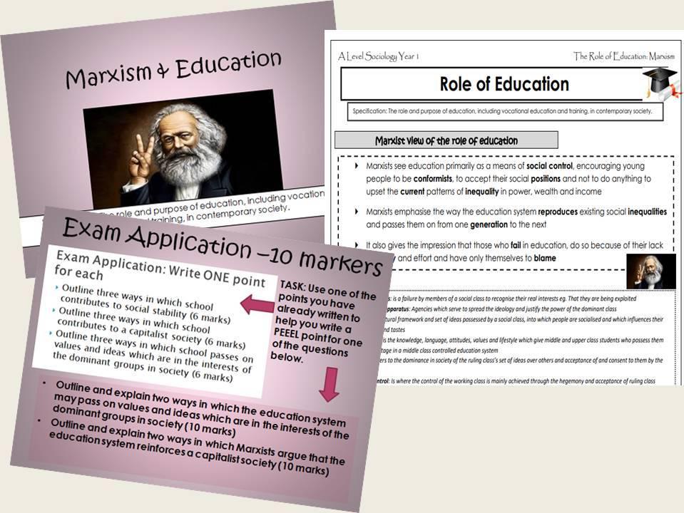 AQA Sociology - Year 1 - Education - Complete Unit