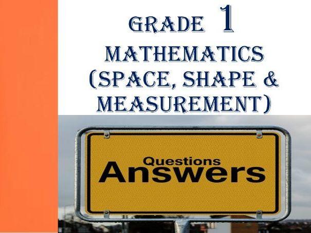 Grade 1 Mathematics Questions & Answers 5