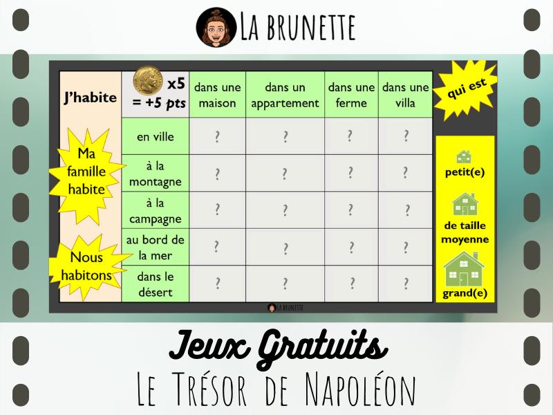 JEU - Le Trésor de Napoléon