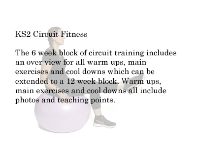 KS 2 PE  Planning Circuit and Fitness