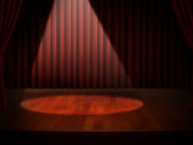 Stage lesson - introducing parts of the stage and stage directions