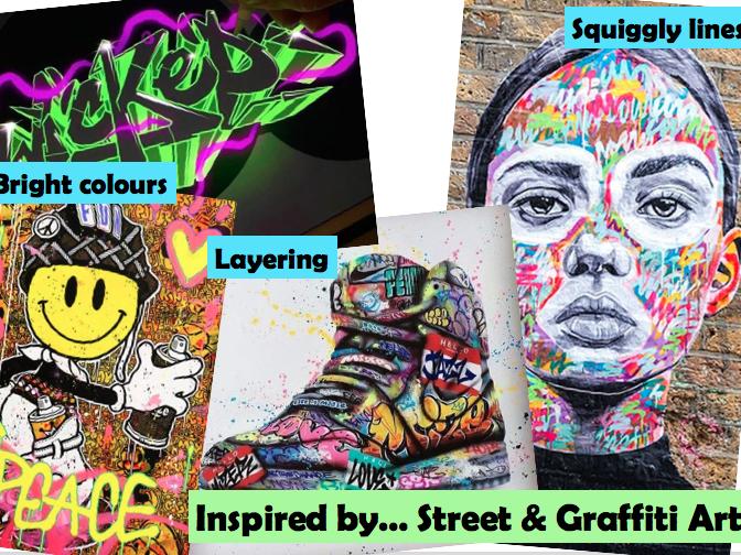Art & Design Display - Design Movements Inspiration