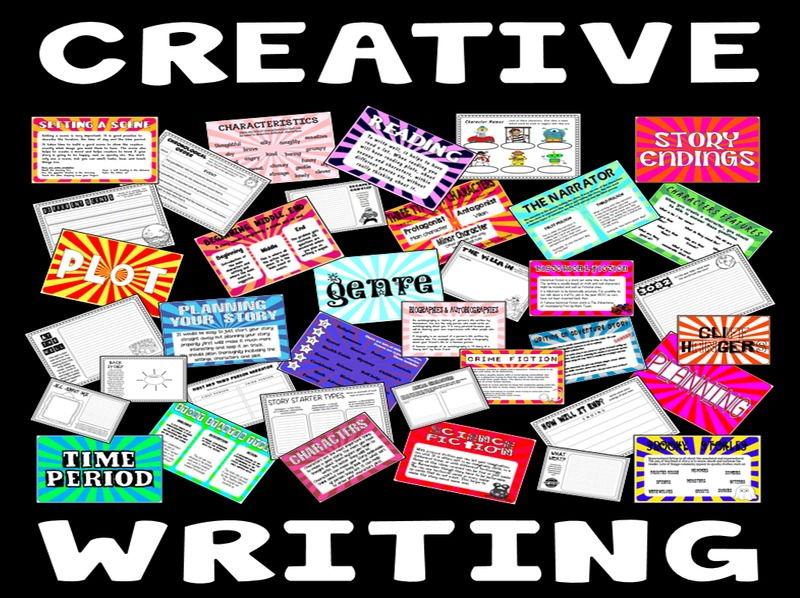 CREATIVE WRITING TEACHING RESOURCES K2 ENGLISH LITERACY STORY KEY STAGE 2