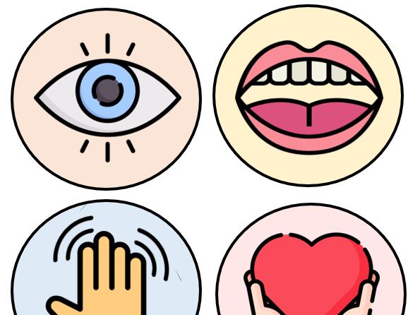 5 Senses Icons + More