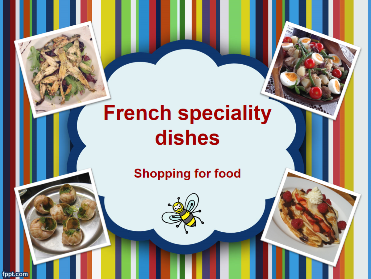 French food - speciality dishes bundle