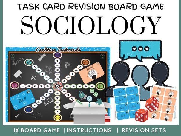 Sociology board game