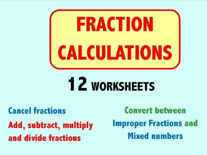 Fraction Calculations
