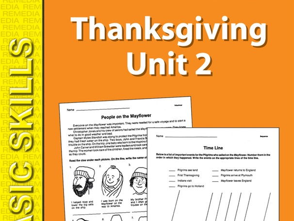 Thanksgiving Unit 2