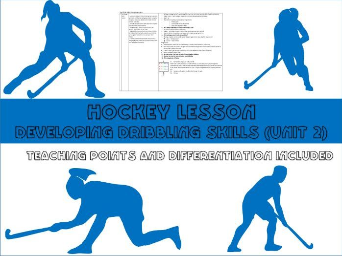 Hockey lesson plan - dribbling intermediate skills - Year 8