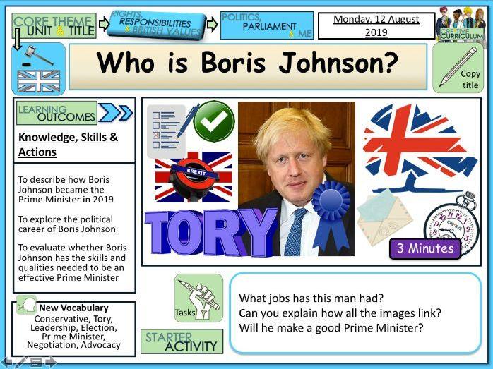 General election 2019 + Boris Johnson PM + Politics