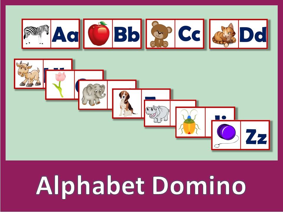 Alphabet Domino