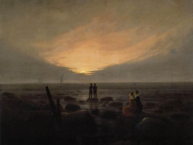 Caspar David Friedrich quotes: on his landscapes and Romantic painting - for students and pupils