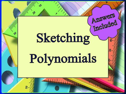 Sketching Polynomials - 26 Questions with Answers