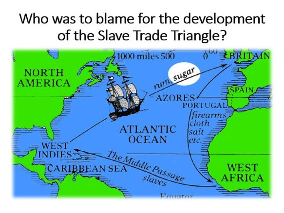 The Slave Trade Triange: Who was to blame?