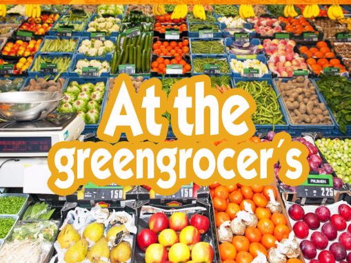 AT THE GREENGROCER´S