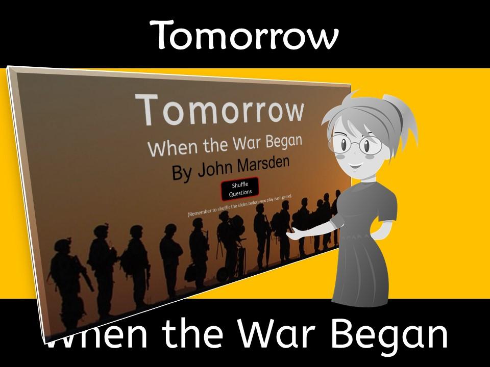Tomorrow When the War Began by John Marsden Novel Study Review