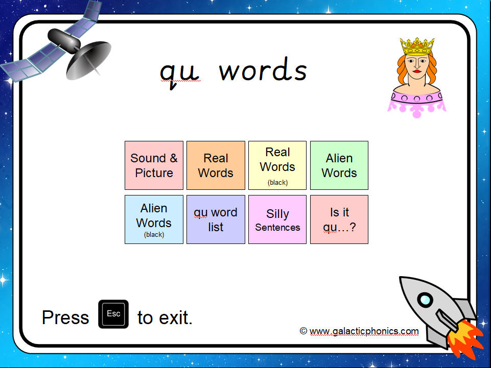 The 'qu' PowerPoint