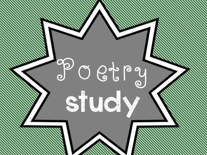 Literacy - Poetry Study