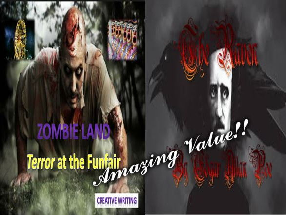 Zombie Land + The Raven + Special Starter Presentation
