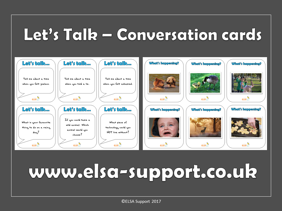 Social skills, warm up, icebreaker cards - Let's talk