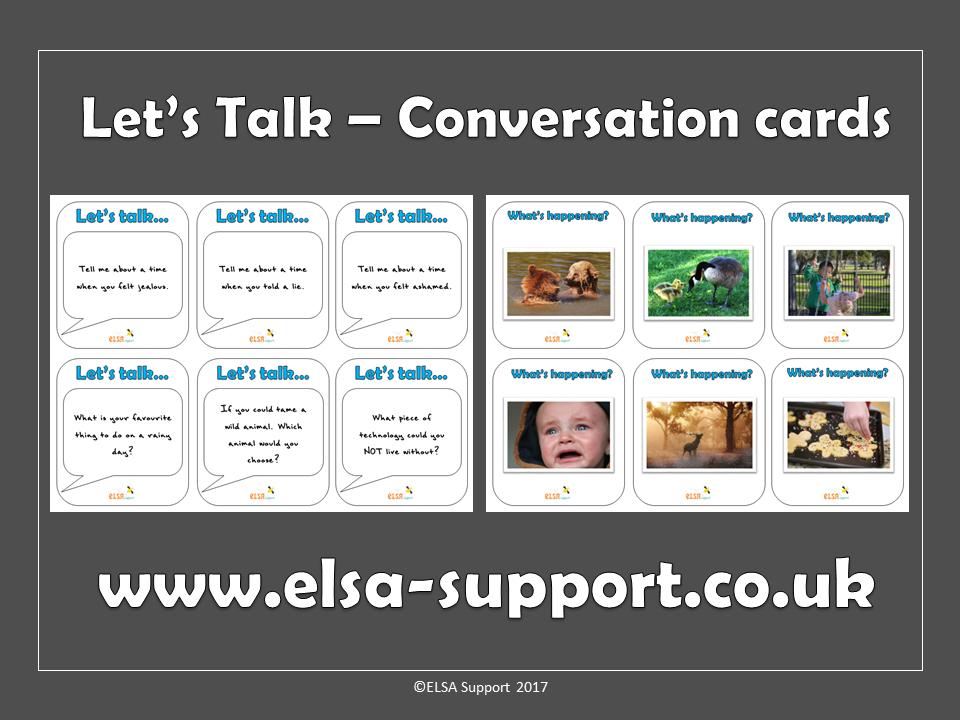 Social skills, warm up, icebreaker cards - Let's talk
