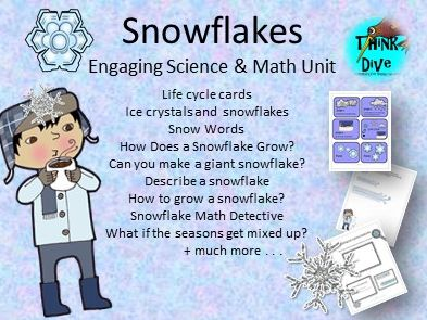 Snowflakes, Life Cycle, Project Based Learning, NGSS
