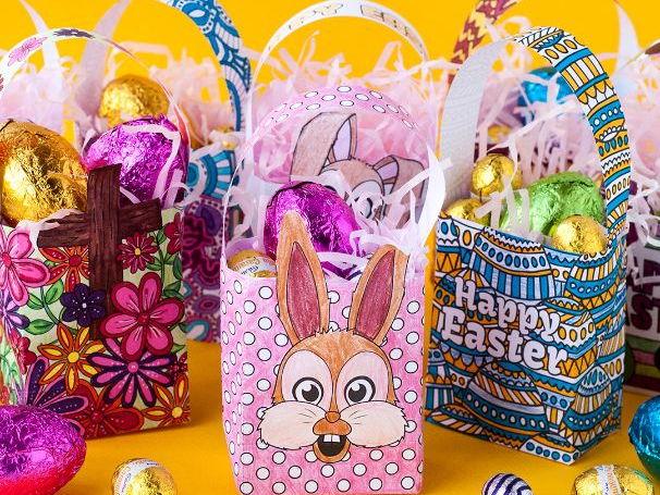 DIY Easter Gift Bag Templates (Set of 8)
