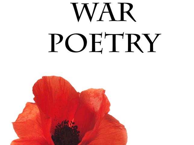 War Poetry Scheme of Work 100+ slides