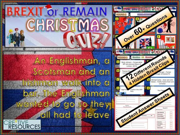 Merry Brexit Christmas Quiz - EU in or out?