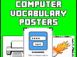 Computer Vocabulary Posters