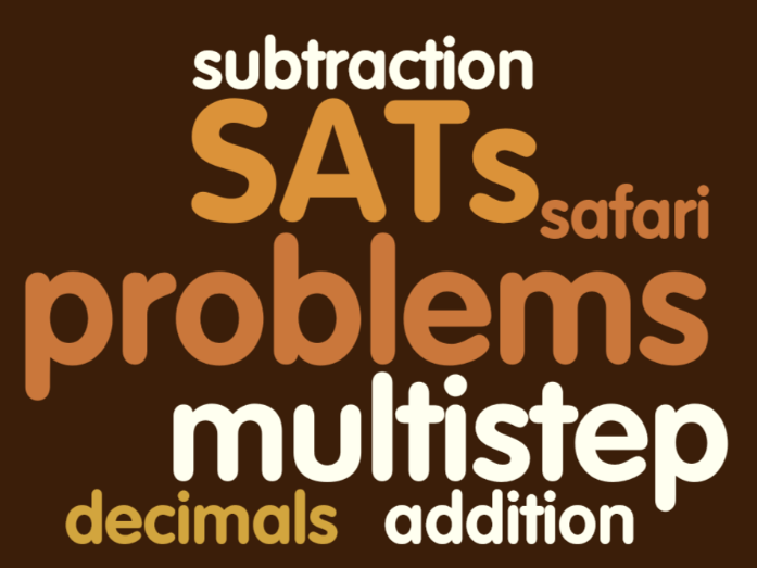 Year 6 SATs Revision Safari - addition and subtraction
