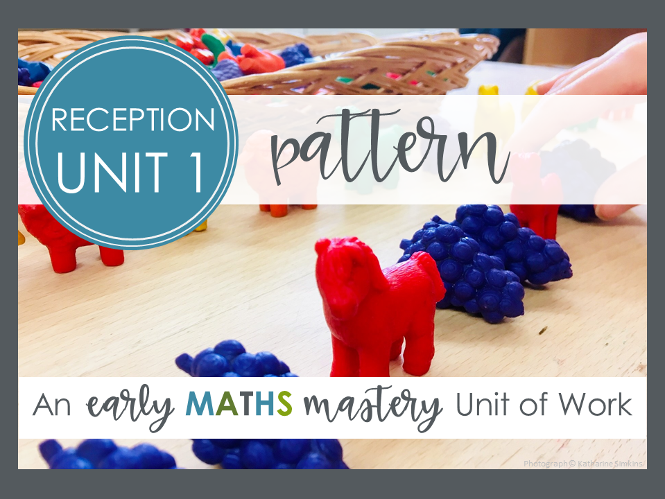 Pattern - Reception Maths Mastery planning (Autumn term, week 1)