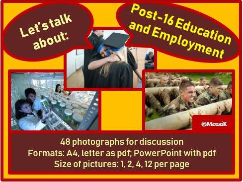 Education and Employment : picture cards for discussion
