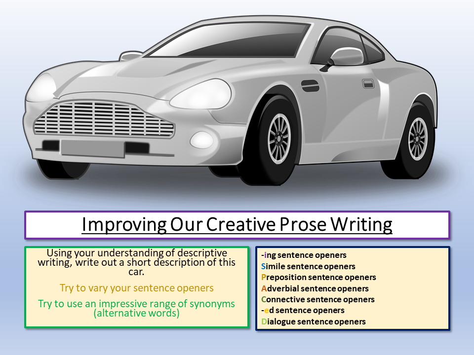 Eduqas Improving Creative Prose Writing