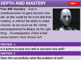 AQA RS Theme C:  Arguments against existence of God: Evil and Suffering & evaluation