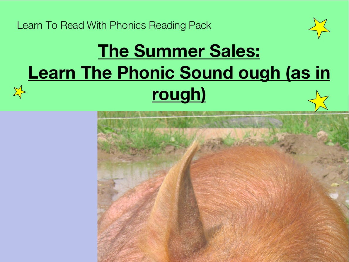worksheet Phonics Ough Worksheets summer sales learn the phonic sound ough as in rough to read with phonics pack by guineapigeducation teaching resour
