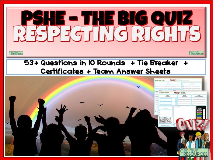 PSHE Children's Rights Quiz