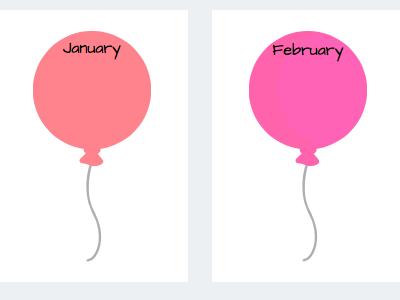 Birthday Chart Classroom Display Board Template Calendar Months