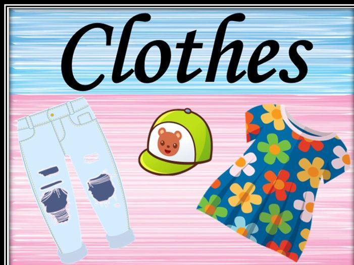 Clothes. Activities. Bundle.