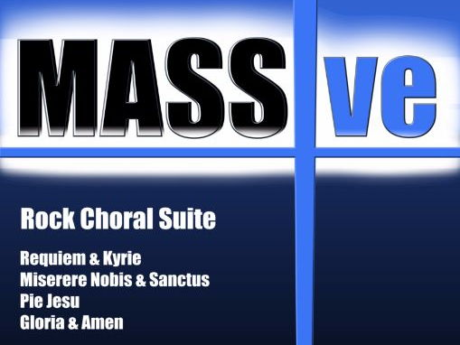 MASSive  - A Mass In Rock!  (Piano/Vocal Score