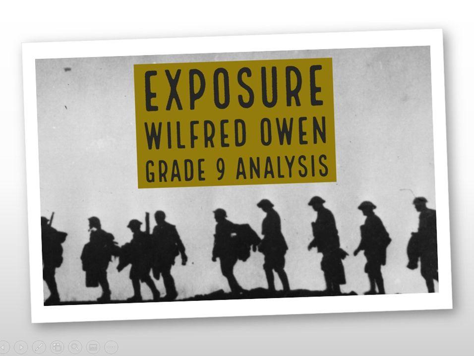 Exposure – Grade 9 quotation analysis & model answers