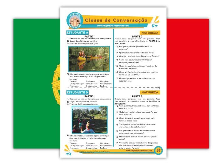Natureza - Portuguese Speaking Activity