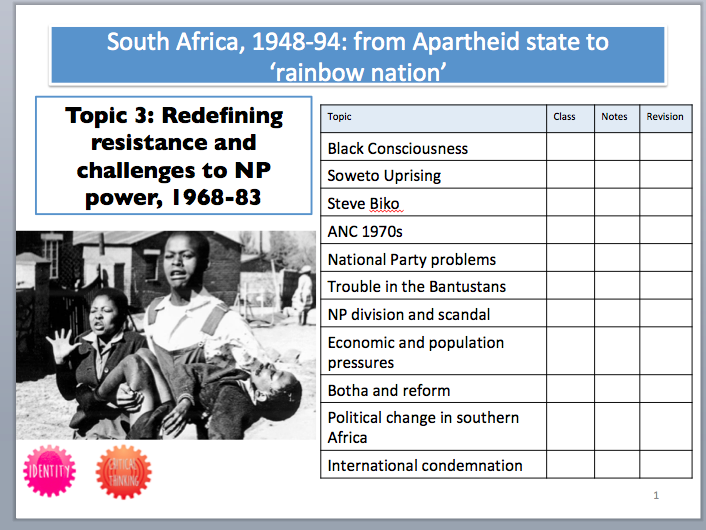 South Africa Booklet 3: Redefining Resistance