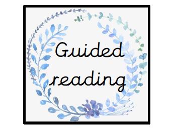 Blue garland classroom labels
