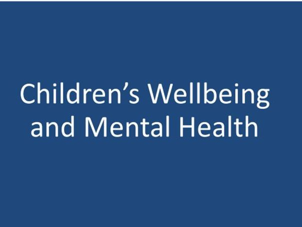 Wellbeing for Children - health and social care