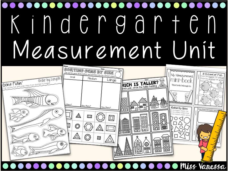 Kindergarten Measurement Worksheets And Printables