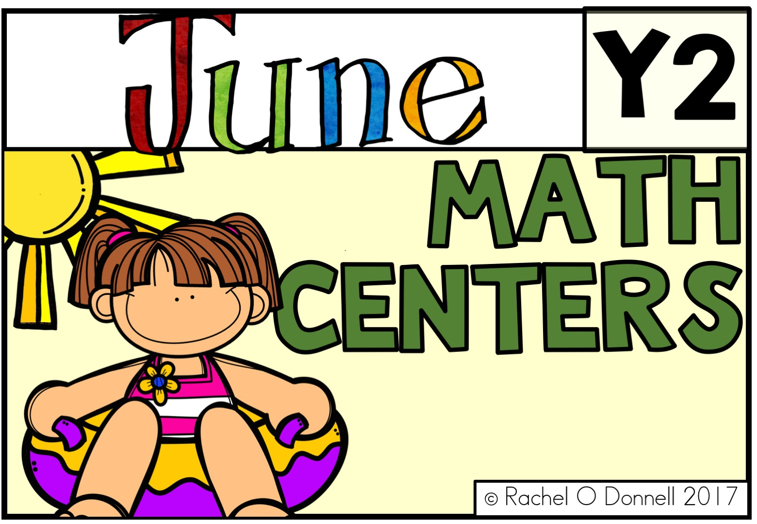 June Year 2 Maths Centers